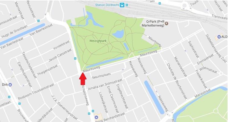 3. Locatie weizigtpark - WALk FOR (F)IT - donderdagmiddag