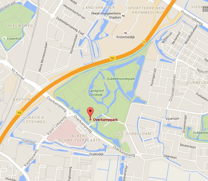 1. Locatie Overkamppark - WALK FOR (F)IT! - dinsdagmiddag, woensdagavond en donderdagavond